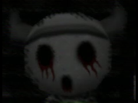SCARY GYROID FACE Easter Egg in Animal Crossing