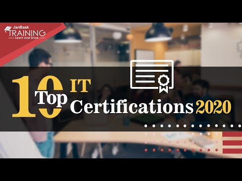 Top 10 Highest Paying IT Certifications 2020   JanBaskTraining ...