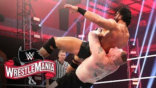 Brock Lesnar and Drew McIntyre clash for WWE Title: WrestleMania 36 (WWE Network Exclusive)
