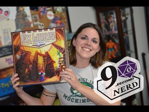 90 Second Nerd Board Game Review: Ex Libris