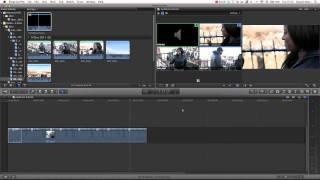 Final Cut Pro X Advanced Tutorial - Multi-Cam In 10.0.3