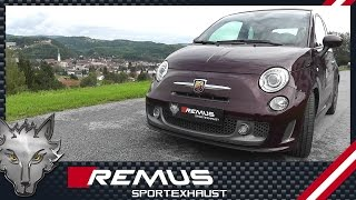 Video: Remus Sportauspuff für Fiat 500 Abarth