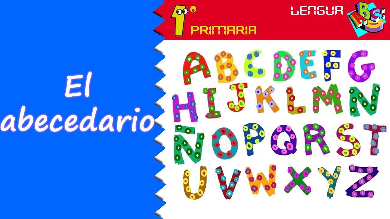 Lengua Castellana. 1º Primaria. Tema 9: El abecedario
