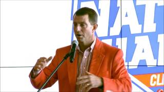 TigerNet.com - Dabo Swinney says he wants to help Clemson soccer teams get a new operations complex