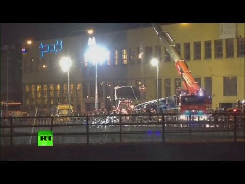 Continúan las operaciones de rescate en Génova tras el derrumbe parcial de un puente