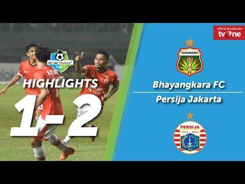Bhayangkara FC vs Persija Jakarta: 1-2 All Goals & Highligts Liga 1