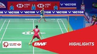 VICTOR CHINA OPEN 2018   Badminton WS - F - Highlights   BWF 2018
