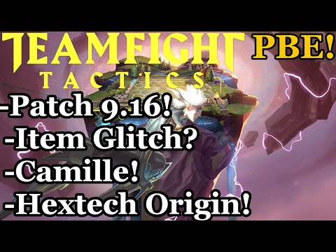 TFT New Units Gameplay - Camille, Glitches and Hextech Origin on the PBE!