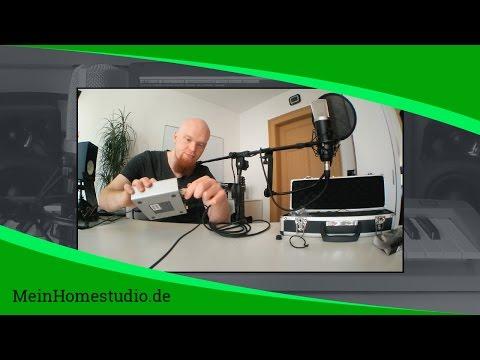 Welches Mikrofon und welches Zubehör brauche ich? | MeinHomestudio.de | Home Studio einrichten
