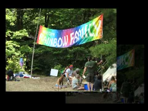 Rainbow Gathering PA 2010 'Somewhere Over The Rainbow