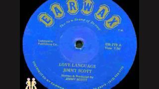 Jimmy Scott - Love Language
