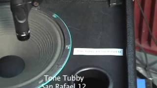 15 Speakers compared Celestion vs E.V. vs Eminence vs JBL vs Jensen vs Tone Tubby