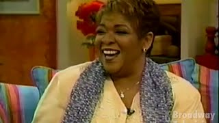 ANNIE's Nell Carter Interview on Fox After Breakfast (15-Apr-1997)