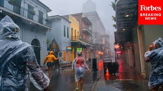 Ida Weakens To Tropical Storm As Images Show Damage Caused By Extreme Conditions | Forbes