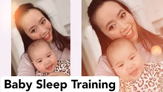 7-Week-Old Baby Sleeps through the Night | Infant Sleep Training Tips Part 1
