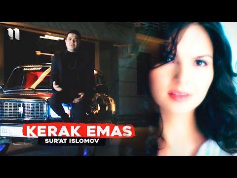 Sur'at Islomov - Kerak emas (Official Music Video)