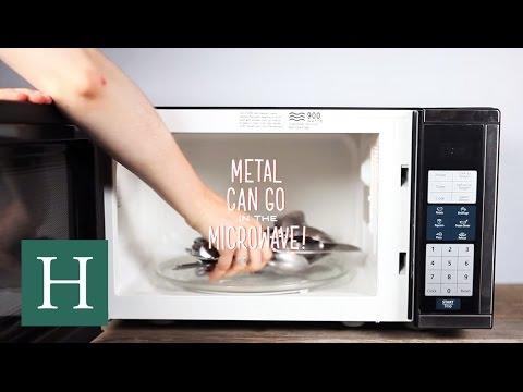 Ποιο είναι το πρόβλημα με το μέταλλο μέσα στον φούρνο μικροκυμάτων