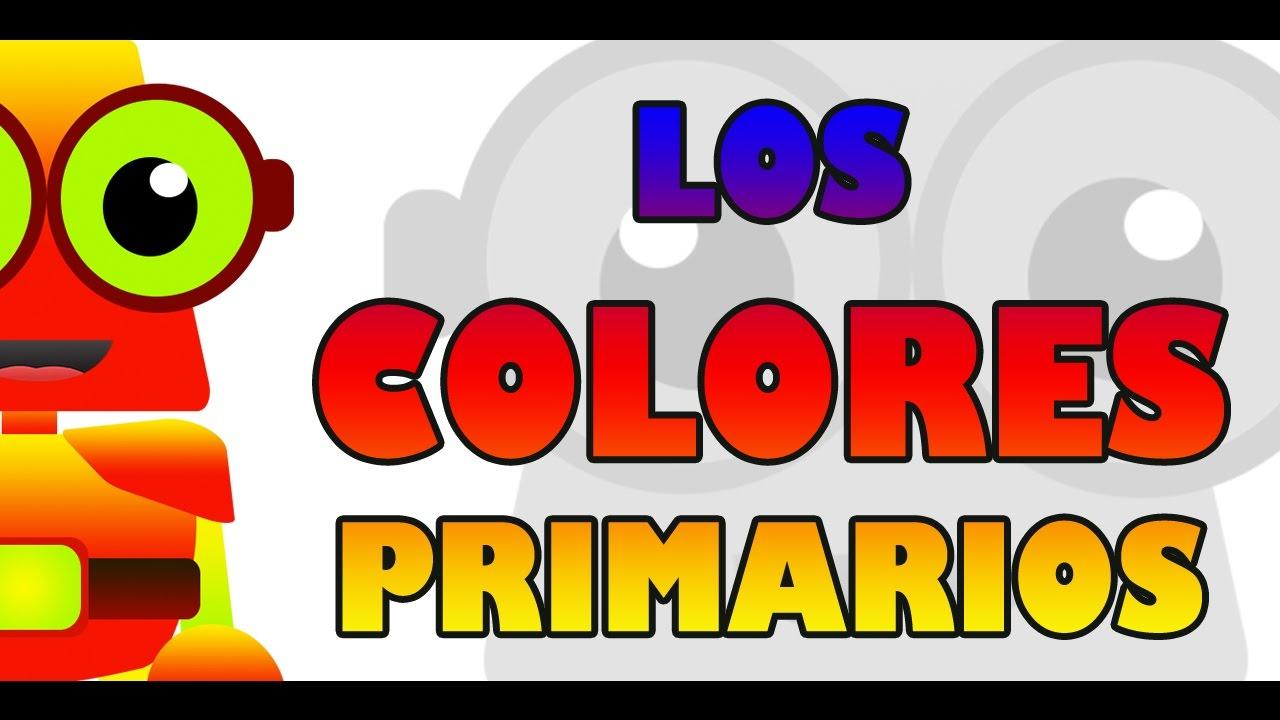 APRENDE CON EDU - LOS COLORES PRIMARIOS