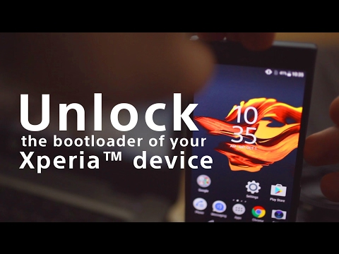 Updated video: How to unlock the boot loader of an Xperia device