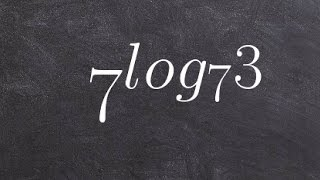 How to use the rules of logarithms to evaluate a log