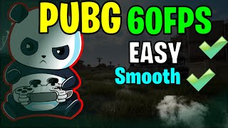 Unlock 60FPS In PUBG Mobile | RUN PUBG At 60 FPS Without GFX Tool 🔥🔥🔥
