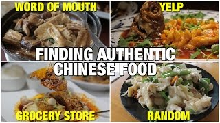 How to Find Authentic Chinese Food in America