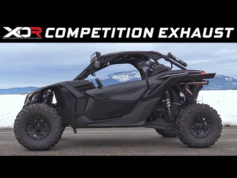 2017-19 Can-Am Maverick X3 - XDR Competition Exhaust System 7203