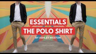The Polo Shirt - Mens Wardrobe Essentials - Navy, Black, White, Pique, Silk, Cotton