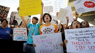 US students plan marches and walkouts to protest at gun laws