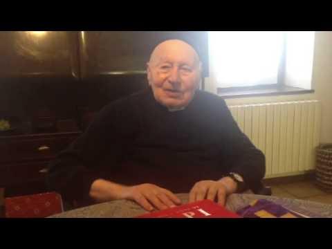 Don Luigi, 99 anni, parroco di Marzio