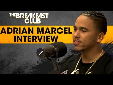 Adrian Marcel On Finally Putting Out A Full Album, Performs His Song 'No Limit'