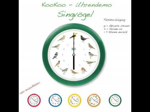 KooKoo Singvögel Uhr
