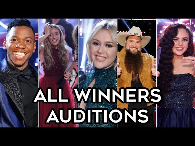 ALL WINNERS Auditions Seasons 1-15 | The Voice USA