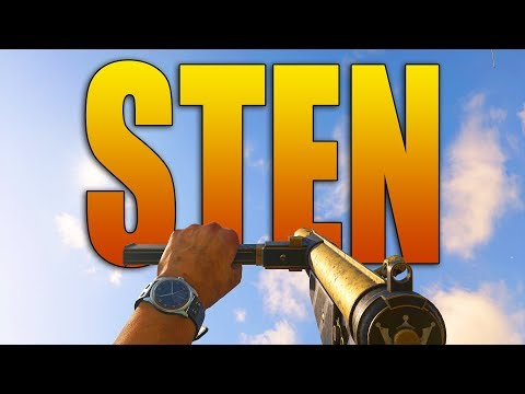 STEN GAMEPLAY - New COD WW2 SMG DLC (Overpowered?)