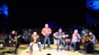 Martin- Zac Brown Band at Red Rocks