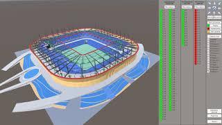 WelcAR - модуль 3D визуализации состояния и показаний датчиков на крупных объектах (стадионы)
