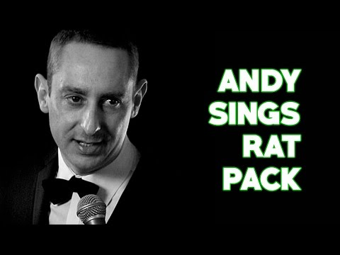 Andy Sings Rat Pack Video