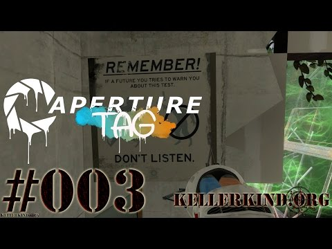 Aperture Tag #3 – Alte Testkammern ohne Portal-Gun? ★ Let's Play Portal 2 Community Mods [HD|60FPS]