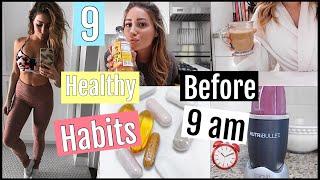 9 Healthy Habits I do BEFORE 9 am// FALL EDITION!