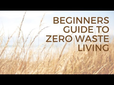 Beginners Guide to Zero Waste Living