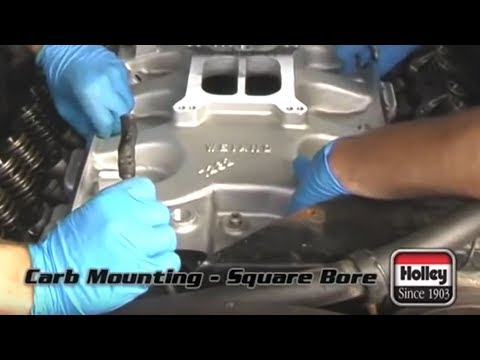 How To Install A Square-Bore Carburetor & Intake To Your Engine