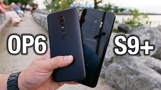 OnePlus 6 vs Samsung Galaxy S9+: Flagship killed?