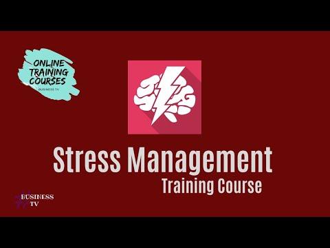 Stress Management Training Course   Business TV Greenbox ...