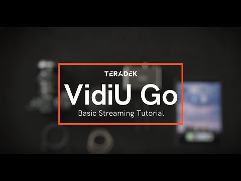 How to Set up Your VidiU Go - Video Streaming Device