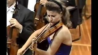 Beethoven Violin Concerto-2mov (3/4) Seiji Ozawa& Anne-Sophie Mutter Boston symphony orchestra