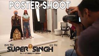 SuperSingh Poster Shoot BTS Releasing Worldwide on June 16 Diljit Dosanjh Sonam