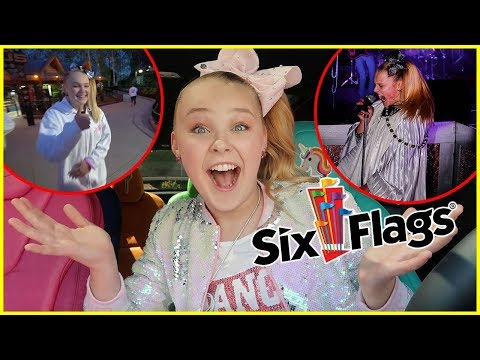 WE RENTED OUT SIX FLAGS!! *Surprise PARTY!!*