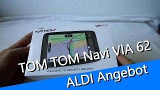 Aldi Angebot Tom Tom Navi VIA 62 gefilmt mit  der Canon EOS RP