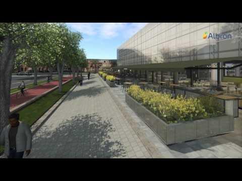 Circulair paviljoen in stationsgebied Utrecht