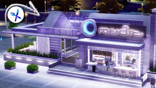 ☕️ Fashionable Wi-Fi Cafe • Modern Restaurant | NoCC | The Sims 4 | Stop Motion